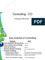 Controlling - CO - Training for Recruiters
