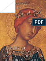 Conti. History of the Restoration and Conservation of Works of Art