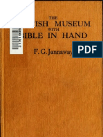 Frankf Jannaway British Museum with Bible in Hand
