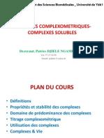 Methodes Complexometriques-complexes Solubles