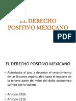 El Derecho Positivo Mexicano