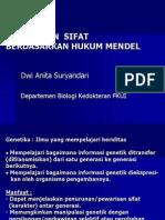 Genetika Mendel & Non-Mendel