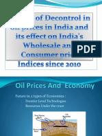 Impact of Decontrol in Oil Prices in India New Latsttttt