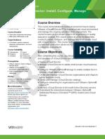 Vcloud DataSheet Course