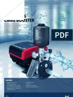compact booster pump for water supply
