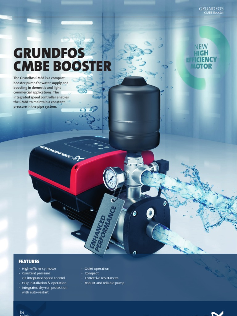 compact booster pump for water supply | Pump | Pressure