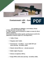 Semiautomatic Rifle Sharac