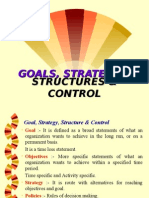 Ch 2 Goals Strategies Structure Control