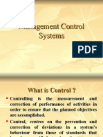 Ch 1 Management Control System