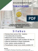 TermoKinetik-FOTOKATALISIS