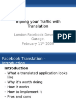 Facebook Translation Presentation 11-02-2009