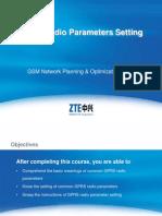 ZTE -GPRS Parameter Setting