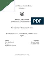 Caratterizzazione Reo-calorimetrica Di Poliolefine Stereo-regolari_Amodio Piscitelli