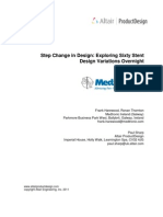 Exploring Sixty Stent Design Variations Overnight