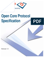 OCP IP OpenCoreProtocolSpecification 1.0
