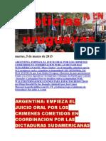 Noticias Uruguayas Martes 5 de Marzo Del 2013