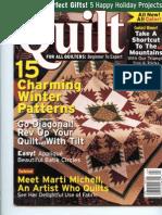 Quilt Magazine Cover