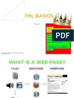 Class 8 - Intro to HTML