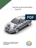 Tema - Sistemul de Directie - Audi A5