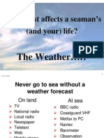 Weather for Yachtmaster Day Skipper Course