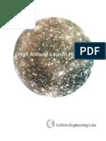 High Altitude Launch Platform