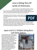 Fukushima Enters Your Back Yard