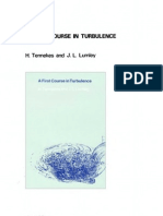 Tennekes H., Lumley J.L. a First Course in Turbulence (MIT, 1970)(ISBN 0262200198)(T)(310s)(1)