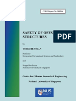 Safety of Offshore Structures