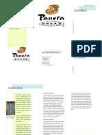 Panera Brochure