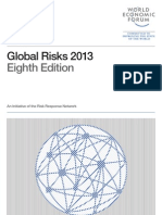 World Economic Forum - Global Risks  2013