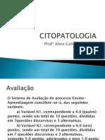 Citopatologia Aula 1