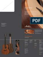 50 Series Catalogue page from George Lowden Guitars, handmade in Ireland