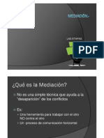 ETAPAS DE LA MEDIACIÓN