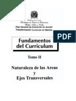 Fundamentos de Curriculo 2