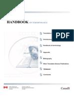 Handbook of Terminology