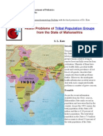Health Problems of Tribal Population Groups From the State of Maharashtra