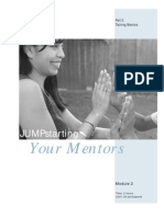 JS 2 JUMPstarting Your Mentors Training