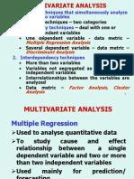 Multivariate Ana