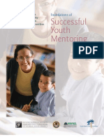 Foundations of Successful Youth Mentoring