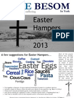 Easter Hamper Flyer 2013