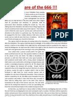 Beware of the 666!!!