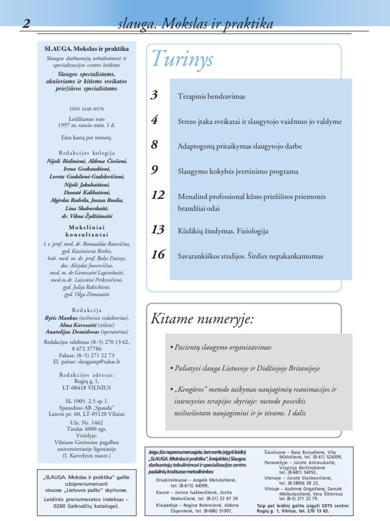 slaugančios moters hipertenzija)