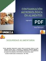 CONTAMINACIÓN MICROBIOLÓGICA EN ALIMENTOS ERDJ