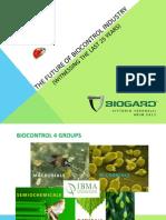 El Futuro de La Industria Del Biocontrol Con Macroorganismos