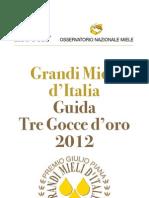 GuidaTreGocceOro 2012 INT