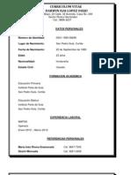 Curriculum Vitae Darwin Isai Lopez Osejo