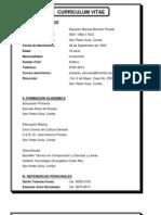 Curriculum Vitae Eduardo Manuel Benitez Pineda