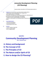 CD Planning Introduction