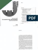 DUBET_ Justicia Educativa EscuelaOportunidades
