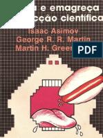 Livro - Isaac Asimov - coma e emagreça com ficção cientifica